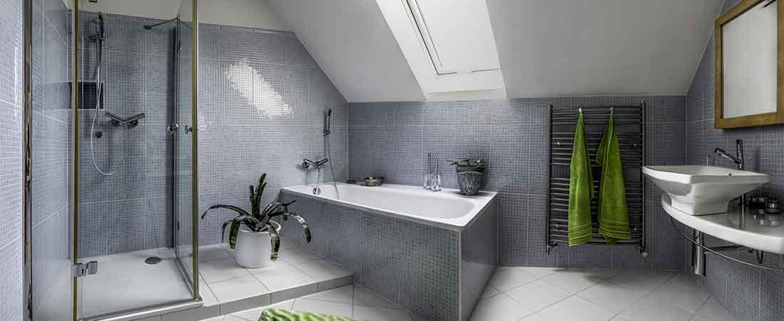 douchecabine plaatsen badkamer